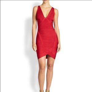 Herve ledger bandage dress